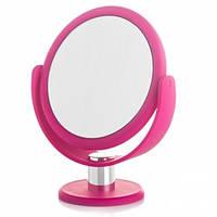 Косметическое зеркало овальное на подставке 23х13 см