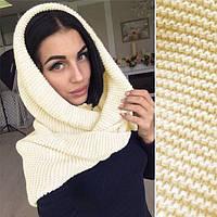 Капор женский, шарф - хомут (ф)