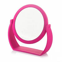 Косметическое зеркало круглое настольное на подставке 20х19 см