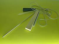 """Колье """"Верона - 1"""" с качественным покрытием, цепочкой и кулоном из дерева, пластика и металла."""