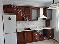 Кухни с патинированными фасадами МДФ на заказ