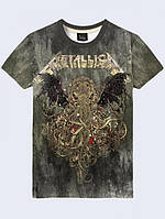 Футболка Metallica octopus
