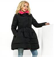 Модное демисезонное женское пальто, в трех цветах