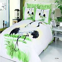 Комплект постельного белья турецкий  Arya Сатин  Stork