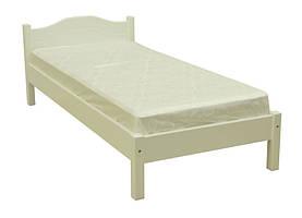 Изящная и надежная односпальная кровать от украинской мебельной фабрики Скиф. Модель Л-104