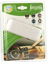 Разветвитель прикуривателя четверник + 1 USB
