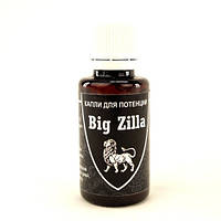Капли для потенции Big Zilla 30 мл.