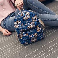 Модный рюкзак для девушки с мишками
