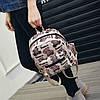 Стильный маленький женский рюкзак с мишками, фото 7