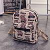 Стильный маленький женский рюкзак с мишками, фото 2