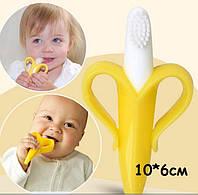Банан щетка прорезыватель грызунок для детей