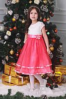 Сказочное платье с кружевной юбкой
