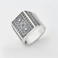 Кольцо-печатка 3809