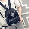 Маленький женский рюкзак паетки, фото 3