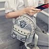 Маленький женский рюкзак паетки, фото 2
