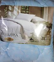 Одеяло двуспальное холофайбер, ткань микрофибра 180*210 (арт.5042)
