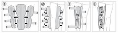 Ортез для иммобилизации коленного сустава (ТУТОР) регулируемый  арт. R6301, фото 2