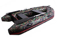 Моторная надувная ПВХ лодка Vulkan VM265 (PS) камо