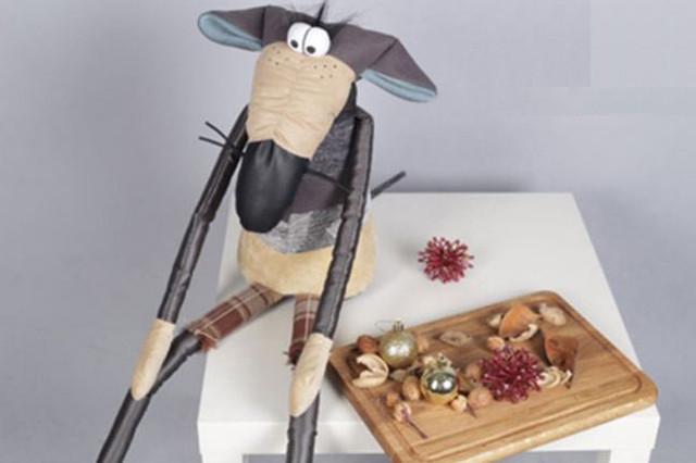 Интерьерная мягкая игрушка Крыса Oliver / Оливер (Фото 2)