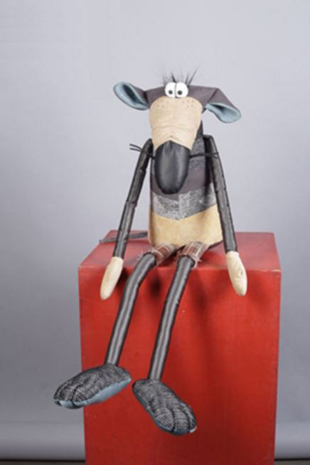 Интерьерная мягкая игрушка Крыса Oliver / Оливер (Фото 3)