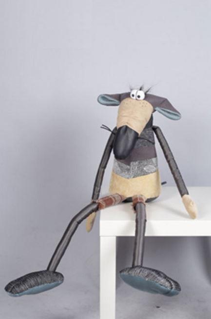 Интерьерная мягкая игрушка Крыса Oliver / Оливер (Фото 4)
