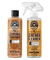 Chemical Guys Комплект для очистки и защиты кожаного салона