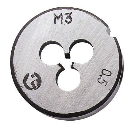 Плашка M 3x0,5 мм INTERTOOL SD-8206, фото 2