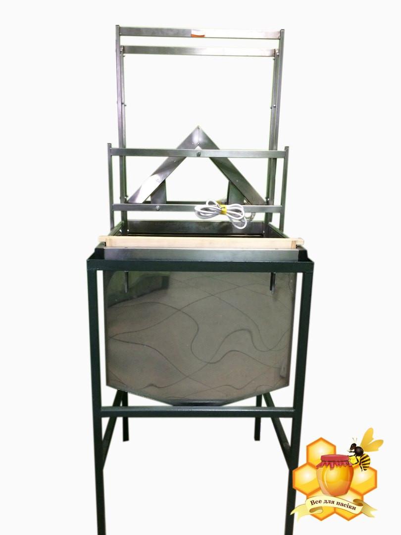 Розпечатувач вертикальний з бункером