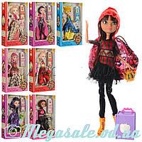 Кукла Эвер Афтер Хай/Ever After High, 8 видов: шарнирная, сумочка + расческа в комплекте
