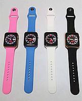 Умные часы Smart Watch IWO2 Pink 1:1 копия apple watch