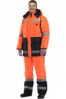 Одежда сигнальная, костюм со светоотражающей полосой, костюм дорожника