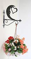 Настенные подставки для подвесных цветов