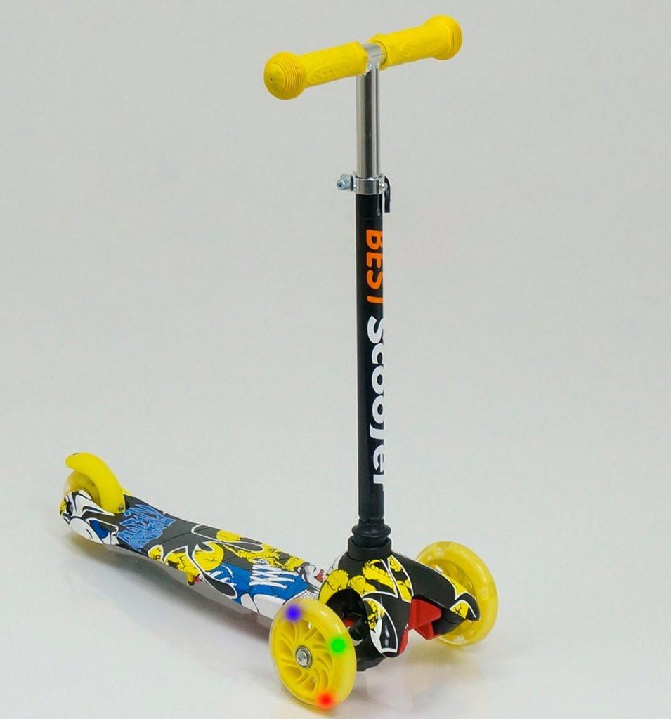 Самокат Best Scooter Maxi с наклонным поворотом руля