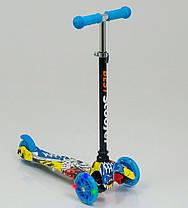 Самокат Best Scooter Maxi с наклонным поворотом руля, фото 3