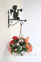 Настенная подставка для подвесного цветка Ангел А-3