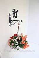 Настенная подставка для подвесного цветка Ангел А-4