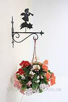Настенная подставка для подвесного цветка Ангел А-6