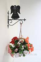 Настенная подставка для подвесного цветка Ангел А-11