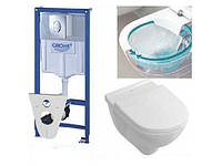 Комплект инсталляция Grohe Rapid SL 38750001+унитаз O.NOVO Direct Flush