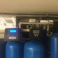 Компактное размещение оборудования очистки воды в подвале частного дома (Осокорки)