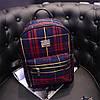 Маленький женский рюкзак в шотландскую клетку, фото 2