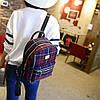 Маленький женский рюкзак в шотландскую клетку, фото 3