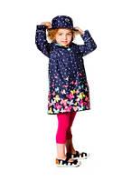 Весенний комплект - плащ и шляпка для девочки Deux par Deux
