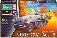Бронетранспортер Sd.Kfz. 251/1 Ausf.B Stuka zu Fu?, 1:35, Revell (03248)