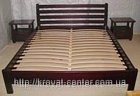 """Деревянная кровать """"Масу"""" (190\200*120\140\150\160\180) массив - сосна, ольха"""