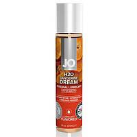 Съедобный лубрикант со вкусом мандарина System JO H2O Flavors Tangerine Dream 30 ml