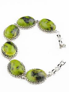 10 Января: Новинки фабрики Ювелон - родированные браслеты с натуральными камнями