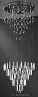 Люстра Asfour Crystal PL 906/50 Chrome TR