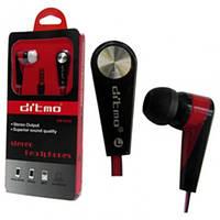 Наушники вакуумные HP-DM 5630 (цвета в ассортименте), проводные наушники для телефона