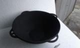 Казан-кастрюля чугунная, на 10 литров без крышки, фото 1